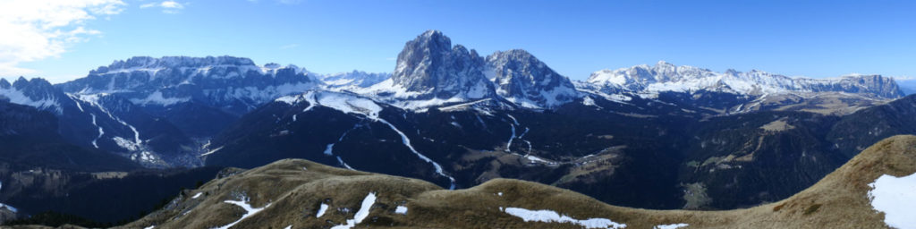 Weitblick Berggipfel